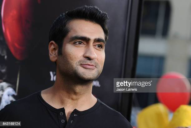"Actor Kumail Nanjiani attends the premiere of ""It"" at TCL Chinese Theatre on September 5, 2017 in Hollywood, California."