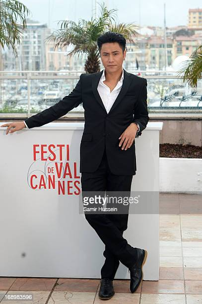 Actor Kun Chen attends 'Bends' Photocall during the 66th Annual Cannes Film Festival at Palais des Festivals on May 18 2013 in Cannes France