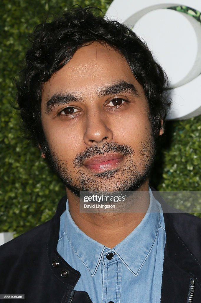 Actor Kunal Nayyar arrives at the CBS, CW, Showtime Summer TCA Party at the Pacific Design Center on August 10, 2016 in West Hollywood, California.