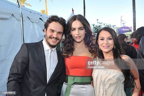 Actor Kuno Becker actress Camilla Belle and actress Alexa Vega arrive at the 11th Annual Latin GRAMMY Awards held at the Mandalay Bay Events Center...