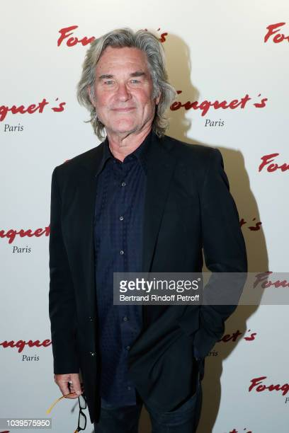 Actor Kurt Russel attends 'Ryder Cup Dinner' at Fouquet's Barriere on September 24 2018 in Paris France