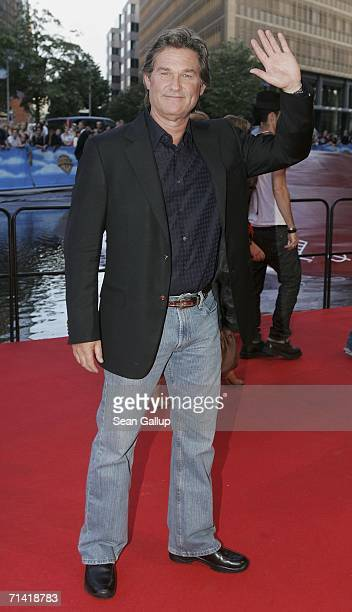 """Actor Kurt Russell arrives for the German premiere of """"Poseidon"""" July 11, 2006 at the Berlinale Palast in Berlin, Germany."""