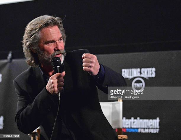 """Actor Kurt Russell attends Entertainment Weekly's CapeTown Film Festival presented by The American Cinematheque and sponsored by TNT's """"Falling..."""