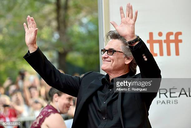 Actor Kurt Russell attends the Deepwater Horizon premiere during the 2016 Toronto International Film Festival at Roy Thomson Hall on September 13...
