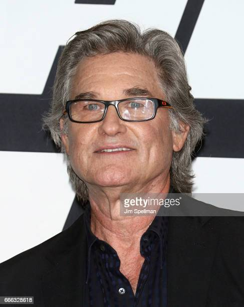 Actor Kurt Russell attends The Fate Of The Furious New York premiere at Radio City Music Hall on April 8 2017 in New York City