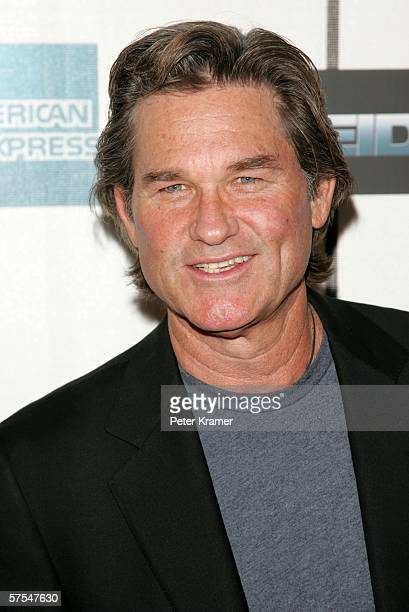 """Actor Kurt Russell attends the """"Poseidon"""" premiere at the Tribeca Performing Arts Center May 6, 2006 in New York City."""