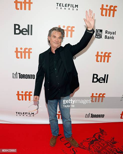 Actor Kurt Russell attends the premiere of Deepwater Horizon during the 2016 Toronto International Film Festival at Roy Thomson Hall on September 7...