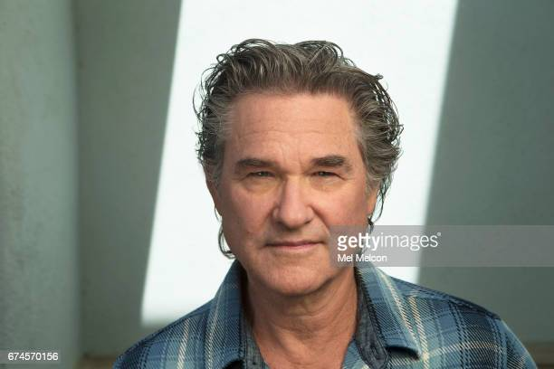 Actor Kurt Russell is photographed for Los Angeles Times on April 10, 2017 in Santa Monica, California. PUBLISHED IMAGE.