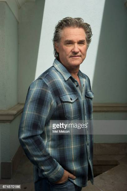 Actor Kurt Russell is photographed for Los Angeles Times on April 10 2017 in Santa Monica California PUBLISHED IMAGE