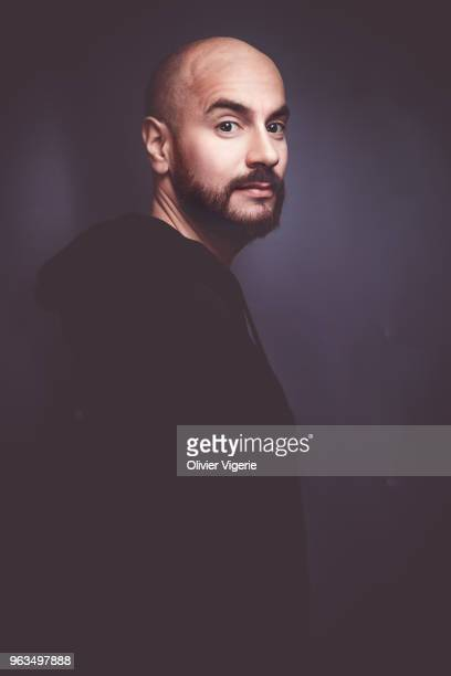 Actor Kyan Khojandi is photographed for Self Assignment, on April, 2018 in Cannes, France. . .