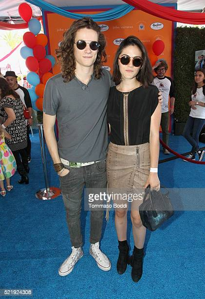 Actor Kyle Allen and actress Isabelle Fuhrman attend the John Varvatos 13th Annual Stuart House benefit presented by Chrysler with Kids' Tent by...