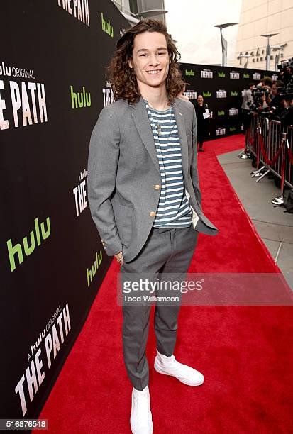Actor Kyle Allen attends The Path Premiere Party at ArcLight Hollywood on March 21 2016 in Hollywood California