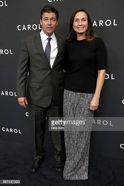 Actor Kyle Chandler and Kathryn Chandler attend the New York premiere of Carol at the Museum of Modern Art on November 16 2015 in New York City