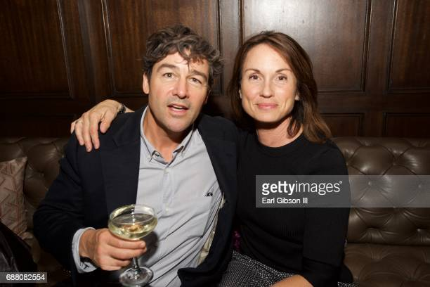 Actor Kyle Chandler and Kathryn Chandler attend the Premiere Of Netflix's Bloodline Season 3 afterparty on May 24 2017 in Culver City California