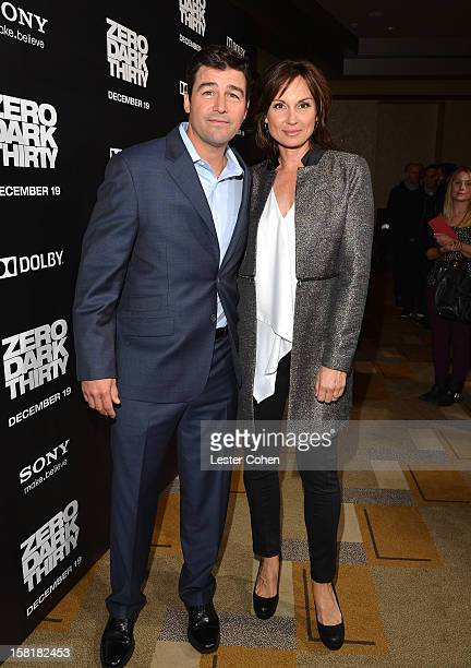 Actor Kyle Chandler and Kathryn Chandler attend the Zero Dark Thirty Los Angeles Premiere at Dolby Theatre on December 10 2012 in Hollywood California