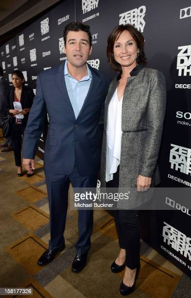 Actor Kyle Chandler and wife Kathryn Chandler arrive at the Los Angeles premiere of Columbia Pictures' Zero Dark Thirty at Dolby Theatre on December...
