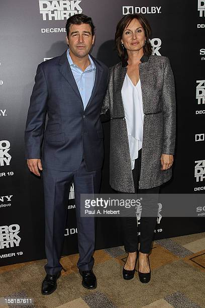 "Actor Kyle Chandler and wife Kathryn Chandler arrive at the premiere of Columbia Pictures' ""Zero Dark Thirty"" held at the Dolby Theatre on December..."