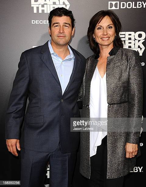 Actor Kyle Chandler and wife Kathryn Chandler attend the premiere of Zero Dark Thirty at the Dolby Theatre on December 10 2012 in Hollywood California