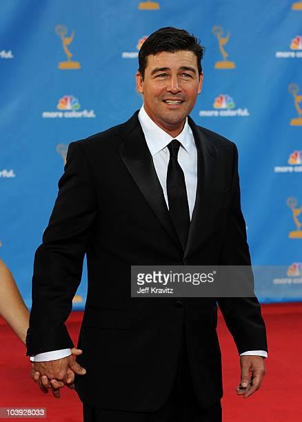 Actor Kyle Chandler arrives at the 62nd Annual Primetime Emmy Awards held at the Nokia Theatre LA Live on August 29 2010 in Los Angeles California