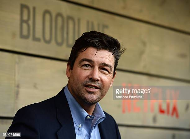 Actor Kyle Chandler arrives at the premiere of Netflix's Bloodline at The Landmark Regent Theater on May 24 2016 in Westwood California