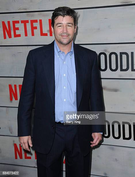 Actor Kyle Chandler attends the premiere of Netflix's 'Bloodline' at Landmark Regent Theatre on May 24 2016 in Westwood California