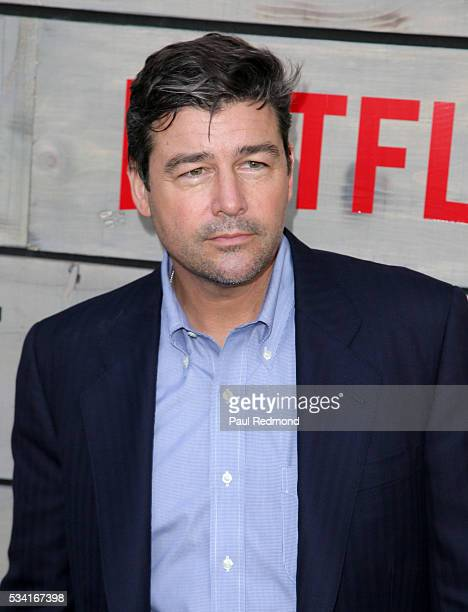 Actor Kyle Chandler attends the Premiere Of Netflix's 'Bloodline' at Landmark Regent on May 24 2016 in Los Angeles California
