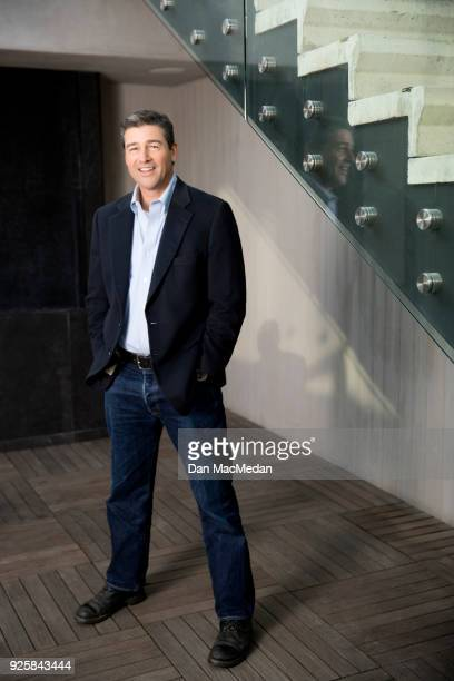 Actor Kyle Chandler is photographed for USA Today on February 10 2018 in West Hollywood California