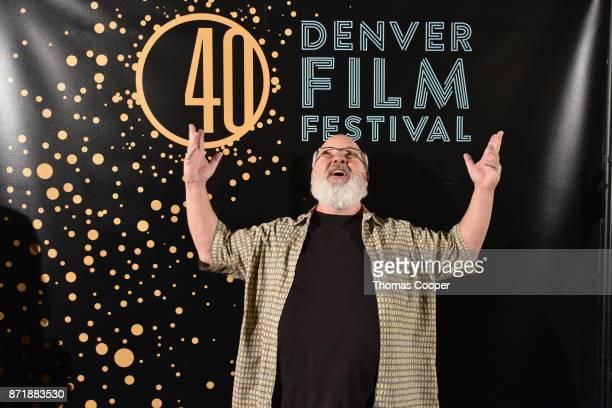 Actor Kyle Gass walks the red carpet during The Denver Film Society's 40th Denver Film Festival at the Sie Film Center on November 8 2017 in Denver...