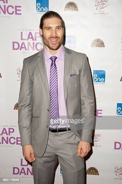 Actor Kyle Jones attends the Los Angeles Premiere of the film Lap Dance at ArcLight Cinemas on December 8 2014 in Hollywood California