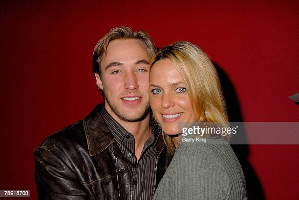 LOS ANGELES CA JANUARY 11 Actor Kyle Lowder and actress Arianne Zuker attend Venice Magazine's after party for The Catholic Girl's Guide to Losing...