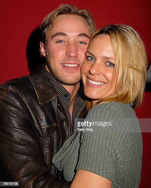 "Actor Kyle Lowder and actress Arianne Zuker attend Venice Magazine's after party for ""The Catholic Girl's Guide to Losing Your Virginity"" opening..."