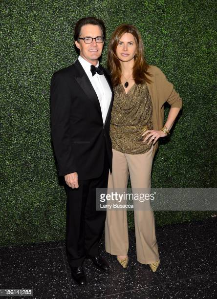 Actor Kyle MacLachlan and Desiree Gruber arrive as Ralph Lauren Presents Exclusive Screening Of Hitchcock's To Catch A Thief Celebrating The Princess...