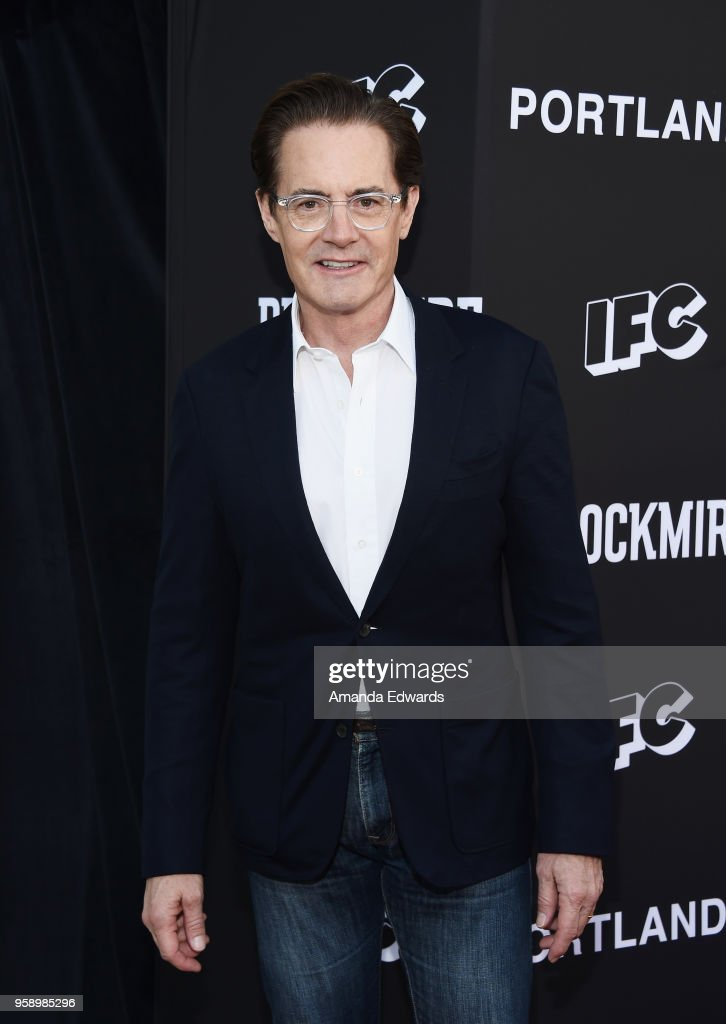 Actor Kyle MacLachlan arrives at IFC 's 'Brockmire' and 'Portlandia' EMMY FYC red carpet event at the Saban Media Center on May 15, 2018 in North Hollywood, California.