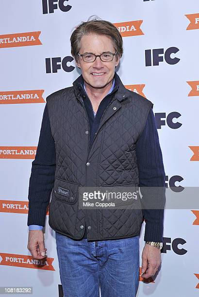 Actor Kyle MacLachlan attends a screening of 'Portlandia' at The Edison Ballroom on January 19 2011 in New York City