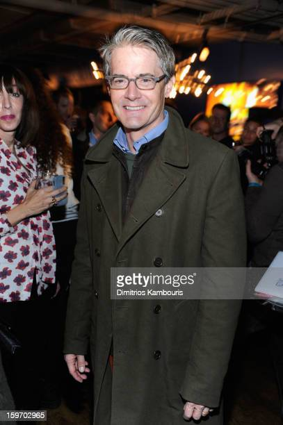 Actor Kyle MacLachlan attends Day 1 of Village at The Lift 2013 on January 18 2013 in Park City Utah