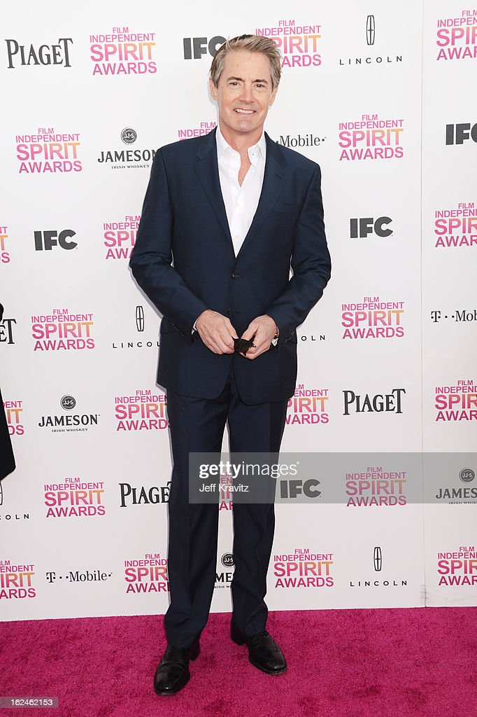 Actor Kyle MacLachlan attends the 2013 Film Independent Spirit Awards at Santa Monica Beach on February 23, 2013 in Santa Monica, California.