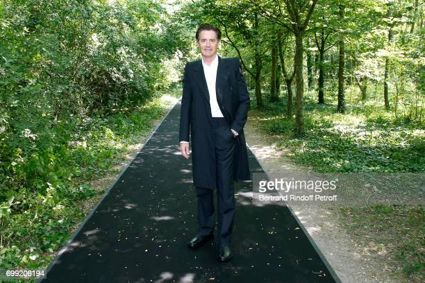 Actor Kyle MacLachlan attends the Balenciaga Menswear Spring/Summer 2018 show as part of Paris Fashion Week on June 21 2017 in 'Bois de Boulogne'...