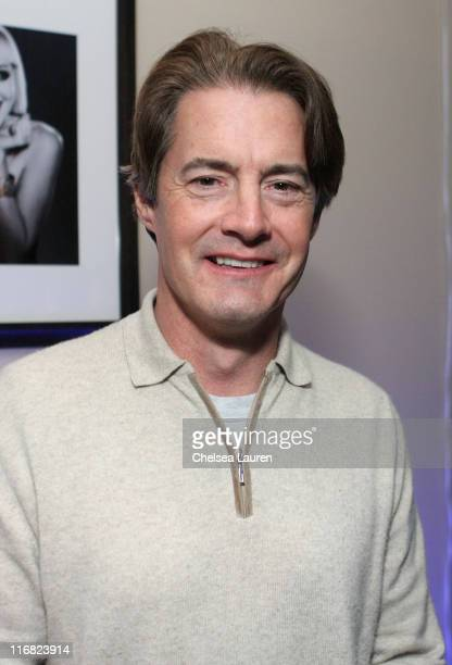 Actor Kyle MacLachlan attends the Manure premiere after party at Eldridge in the Hollywood Life House on January 21 2009 in Park City Utah