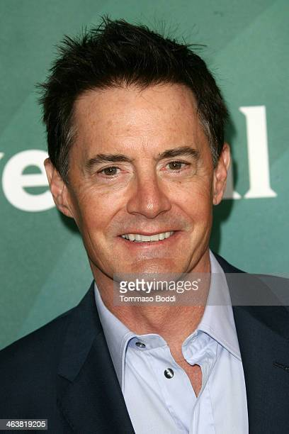 Actor Kyle MacLachlan attends the NBC/Universal 2014 TCA Winter Press Tour held at The Langham Huntington Hotel and Spa on January 19 2014 in...