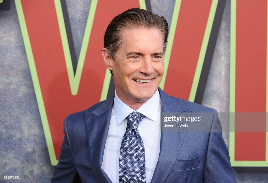 Actor Kyle MacLachlan attends the premiere of 'Twin Peaks' at Ace Hotel on May 19, 2017 in Los Angeles, California.