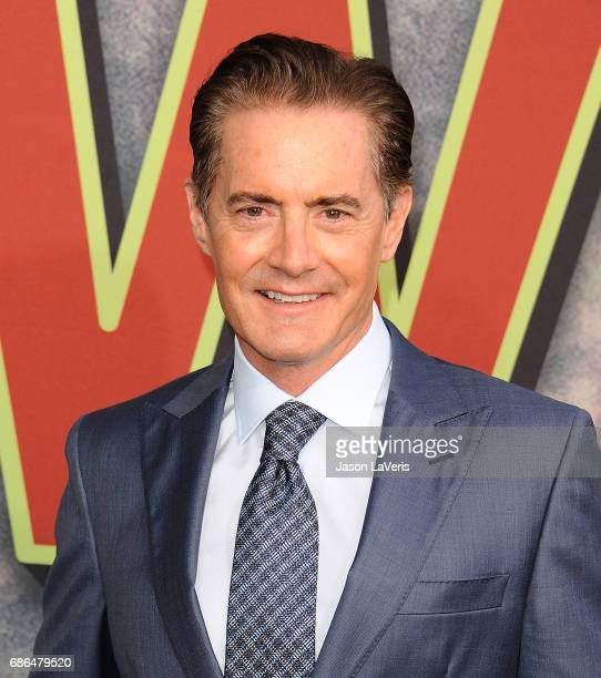 Actor Kyle MacLachlan attends the premiere of 'Twin Peaks' at Ace Hotel on May 19 2017 in Los Angeles California