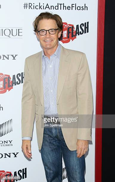 Actor Kyle MacLachlan attends the 'Ricki And The Flash' New York premiere at AMC Lincoln Square Theater on August 3 2015 in New York City