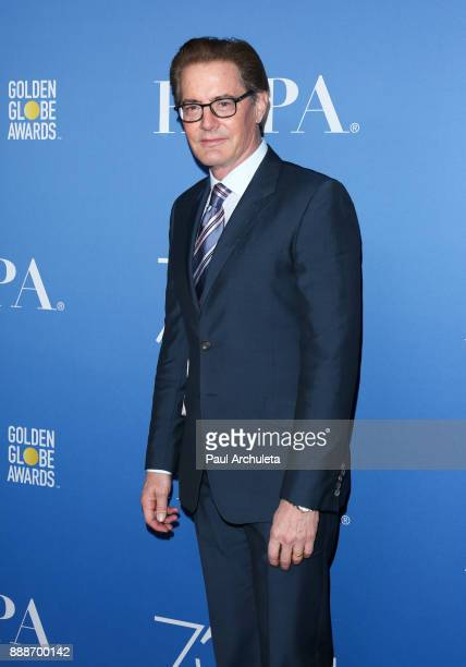 Actor Kyle MacLachlan attends theÊGolden Globes 75th Anniversary special screening and HFPA holiday receptionÊat Paramount Studios on December 8 2017...