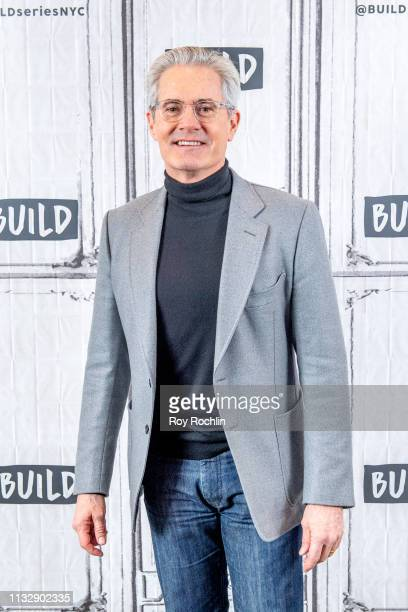 Actor Kyle MacLachlan discusses Giant Little Ones with the Build Series at Build Studio on February 28 2019 in New York City