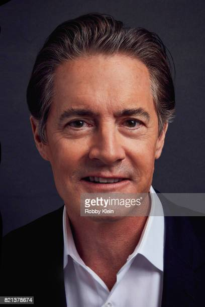 Actor Kyle MacLachlan from Showtime's 'Twin Peaks' poses for a portrait during Comic-Con 2017 at Hard Rock Hotel San Diego on July 21, 2017 in San...