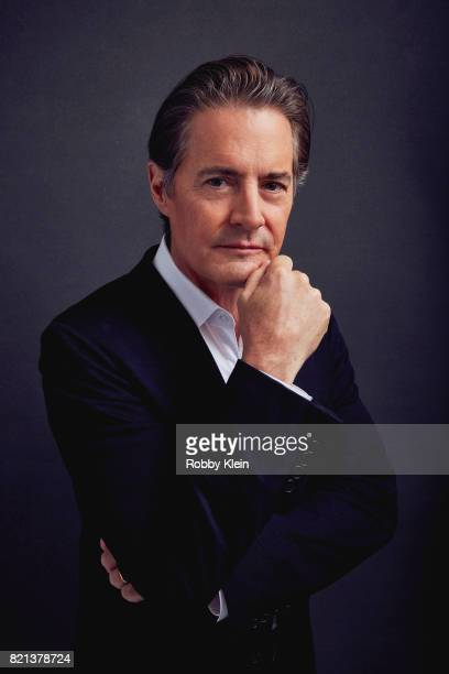 Actor Kyle MacLachlan from Showtime's 'Twin Peaks' poses for a portrait during ComicCon 2017 at Hard Rock Hotel San Diego on July 21 2017 in San...