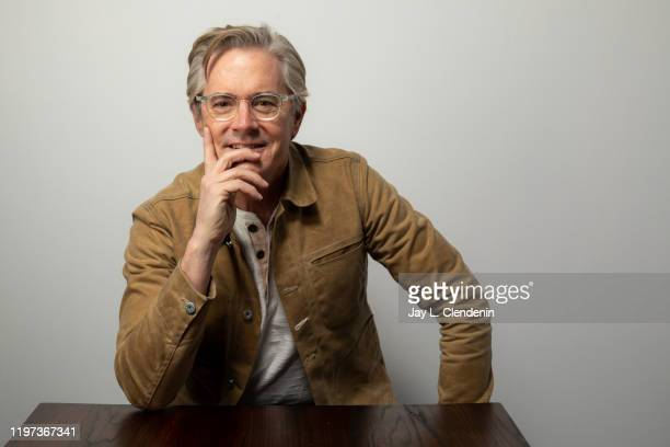 Actor Kyle MacLachlan from 'Tesla' is photographed in the L.A. Times Studio at the Sundance Film Festival on January 27, 2020 in Park City, Utah....