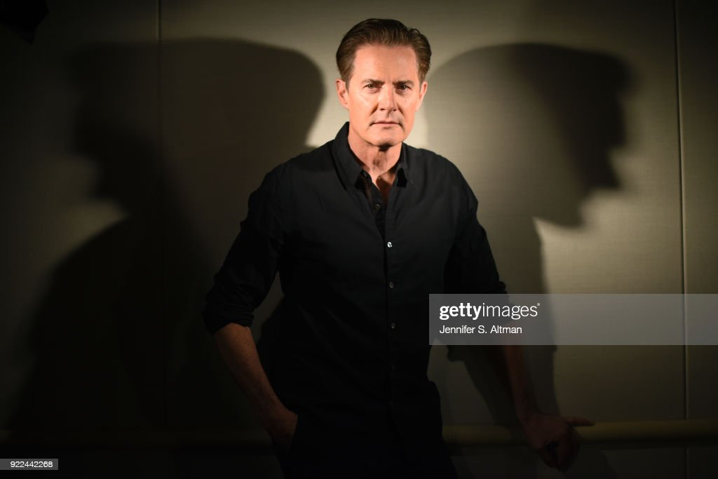 Actor Kyle MacLachlan is photographed for Los Angeles Times on April 27, 2017 in New York City.