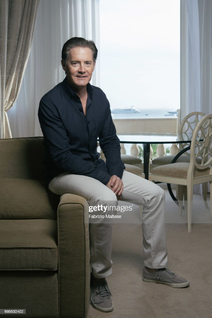 Actor Kyle MacLachlan is photographed for the Hollywood Reporter on May 25, 2017 in Cannes, France.