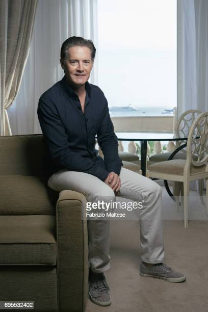 Actor Kyle MacLachlan is photographed for the Hollywood Reporter on May 25 2017 in Cannes France